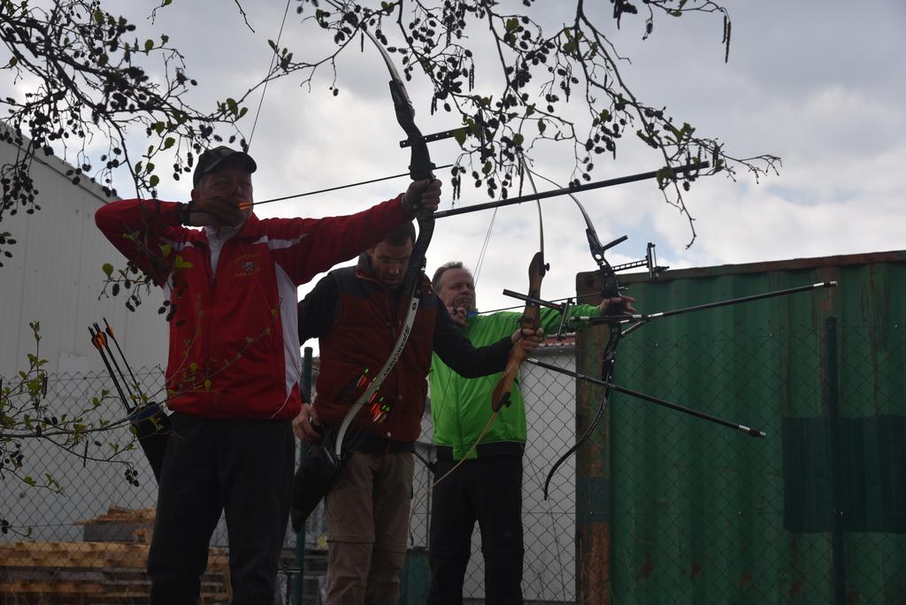 am Tag zuvor: Andreas, Jörg und Stefan von 60m